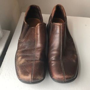 Cole Haan loafer broken in leather 11